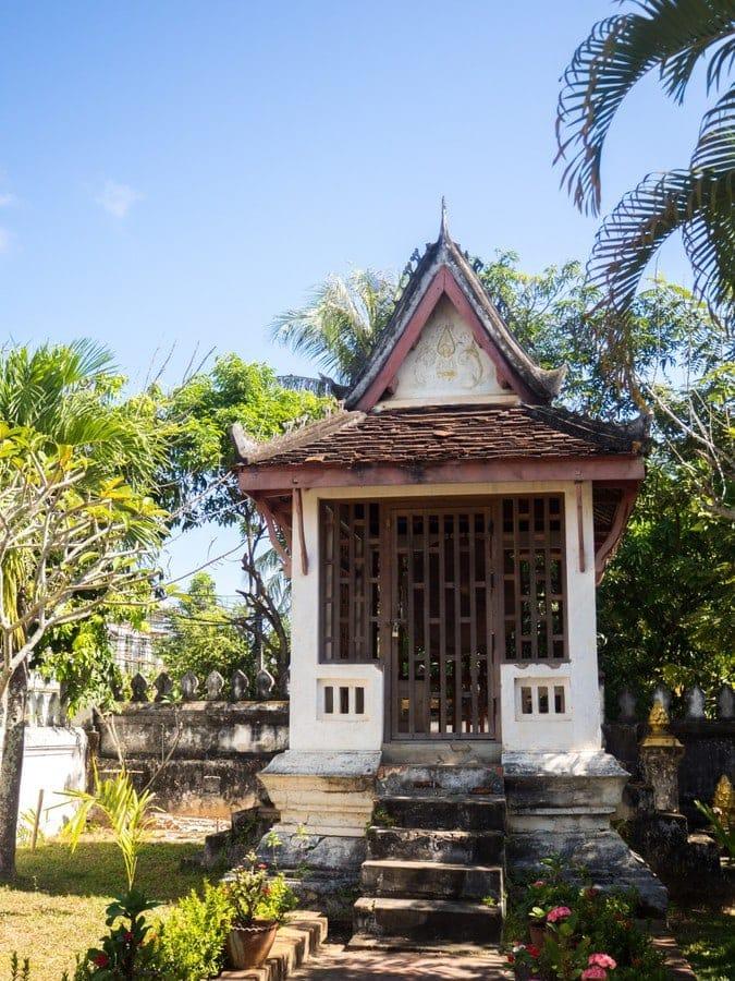 Vat Chom Khong - maison