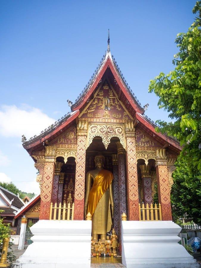 Vat Sensoukharam - Bouddha