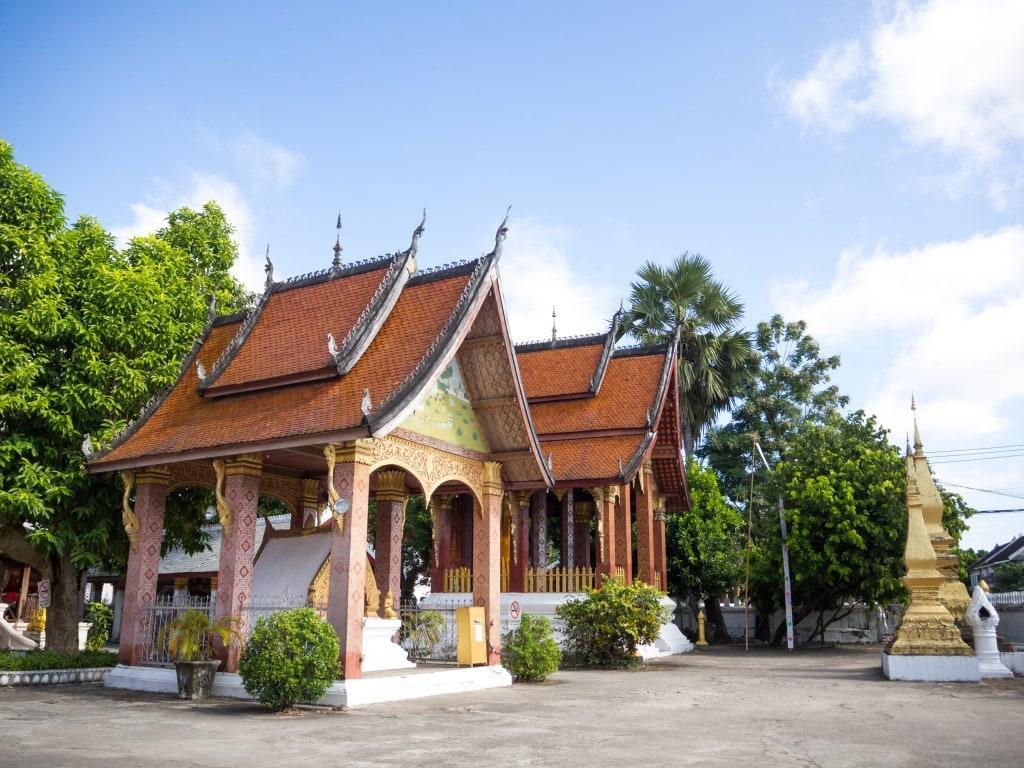 Vat Sensoukharam - Stupa droite
