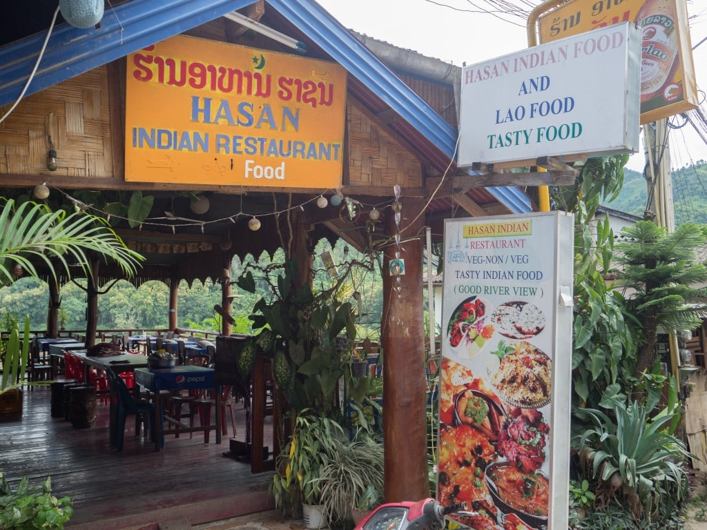 Entrée Hasan restaurant à Pakbeng