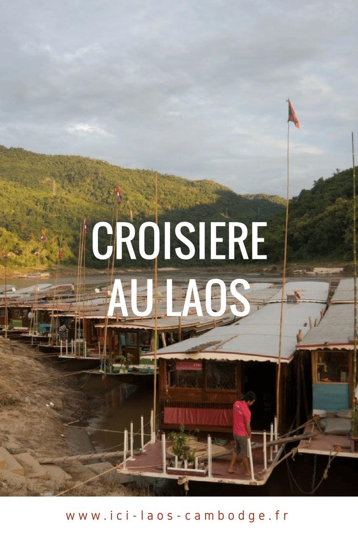 Croisière au Laos