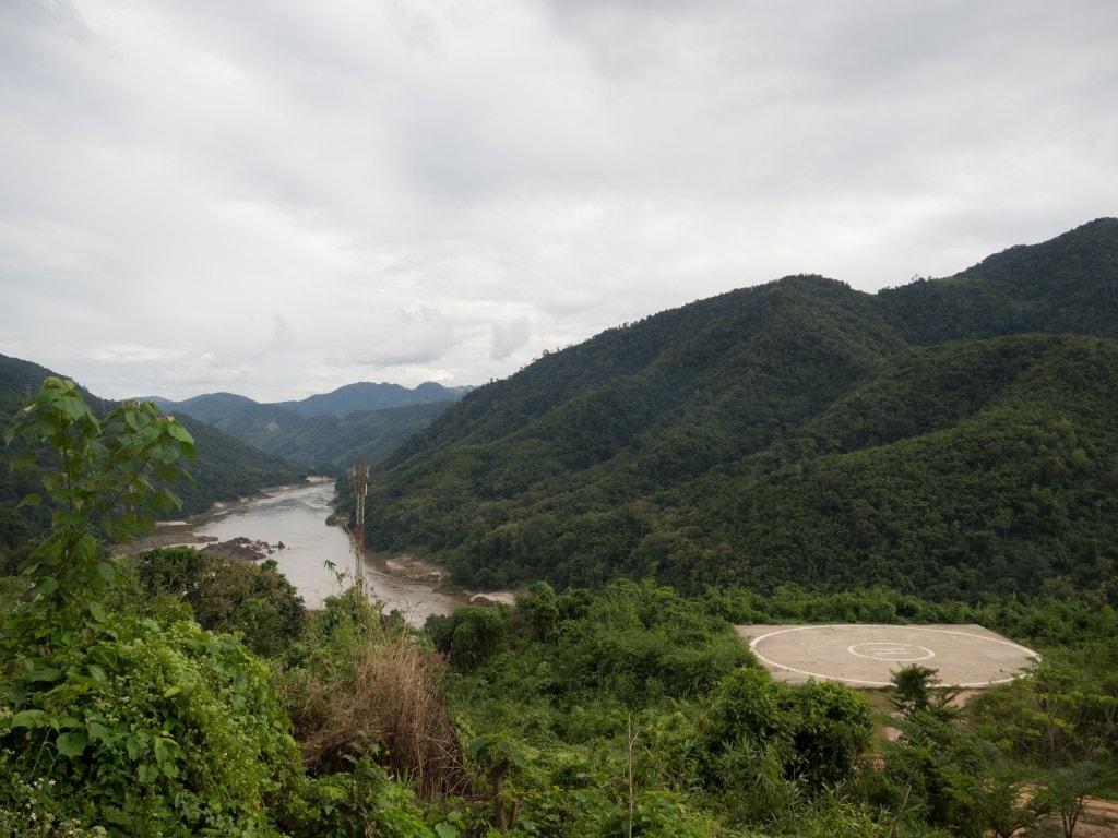 Point de vue sur le Mékong