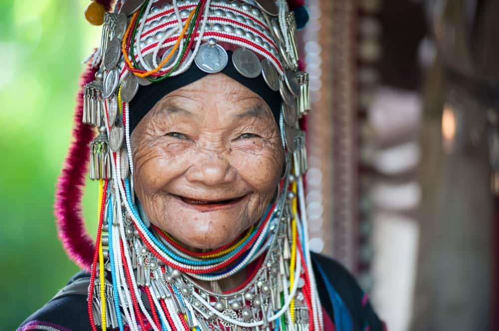 Femme Akha Thaïlande