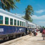 Train au Cambodge