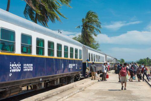 Prendre le train au Cambodge pour son voyage ça vous dit ?