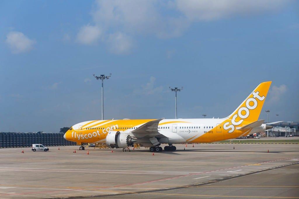 Compagnie aérienne low cost en Asie: Scoot
