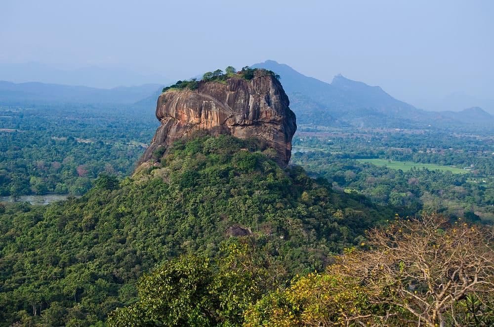 Partir au Sri Lanka - Sigiriya rocher du lion