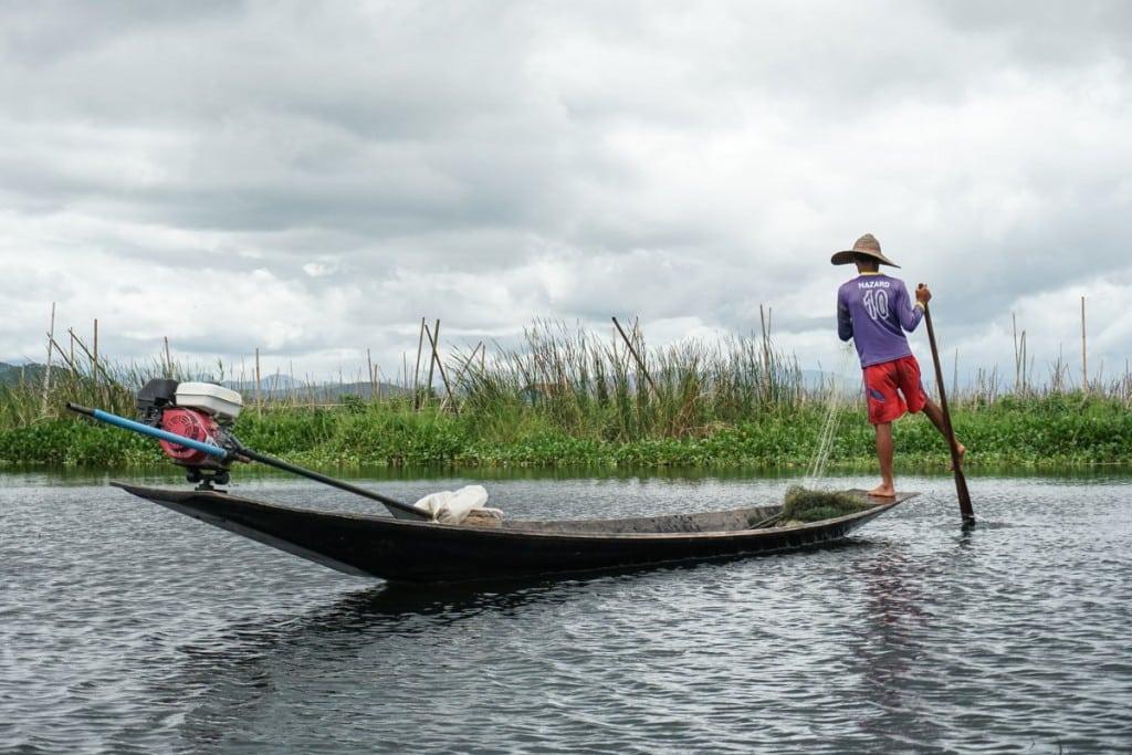 Itinéraire Birmanie 3 semaines : pêcheur au lac Inle