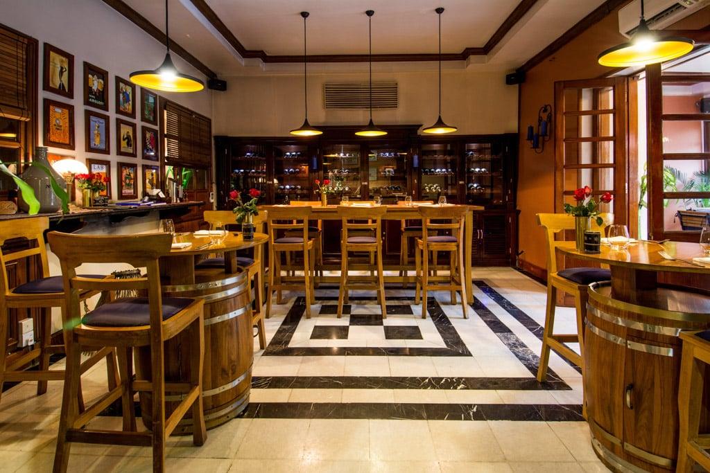 Savoy Hotel de Yangon : Le bistrot