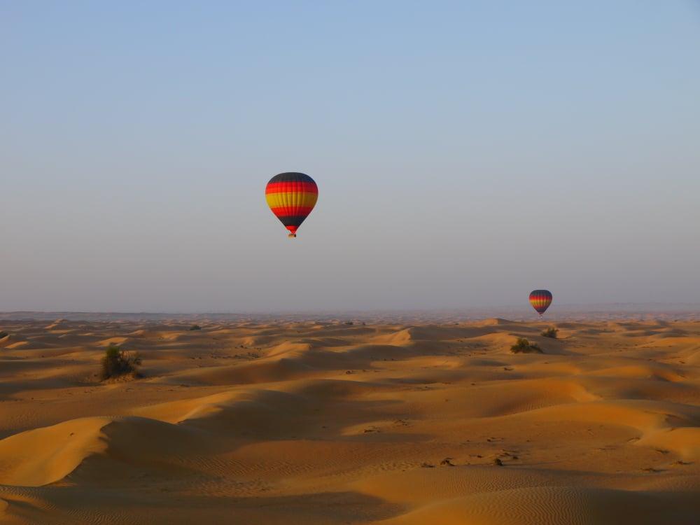 Montgolfiere Dubaï