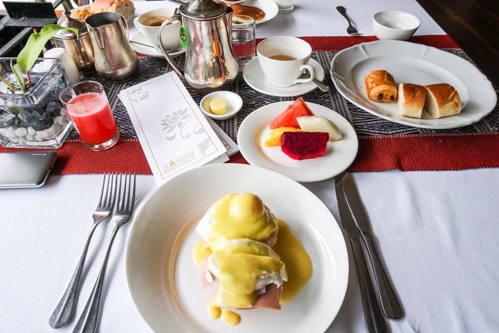 Savoy Hotel de Yangon : Petit-déjeuner