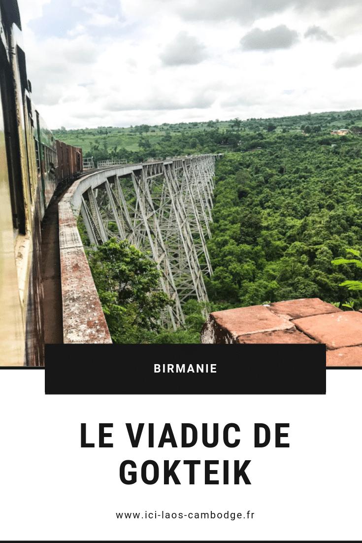 Pin Viaduc de Gokteik