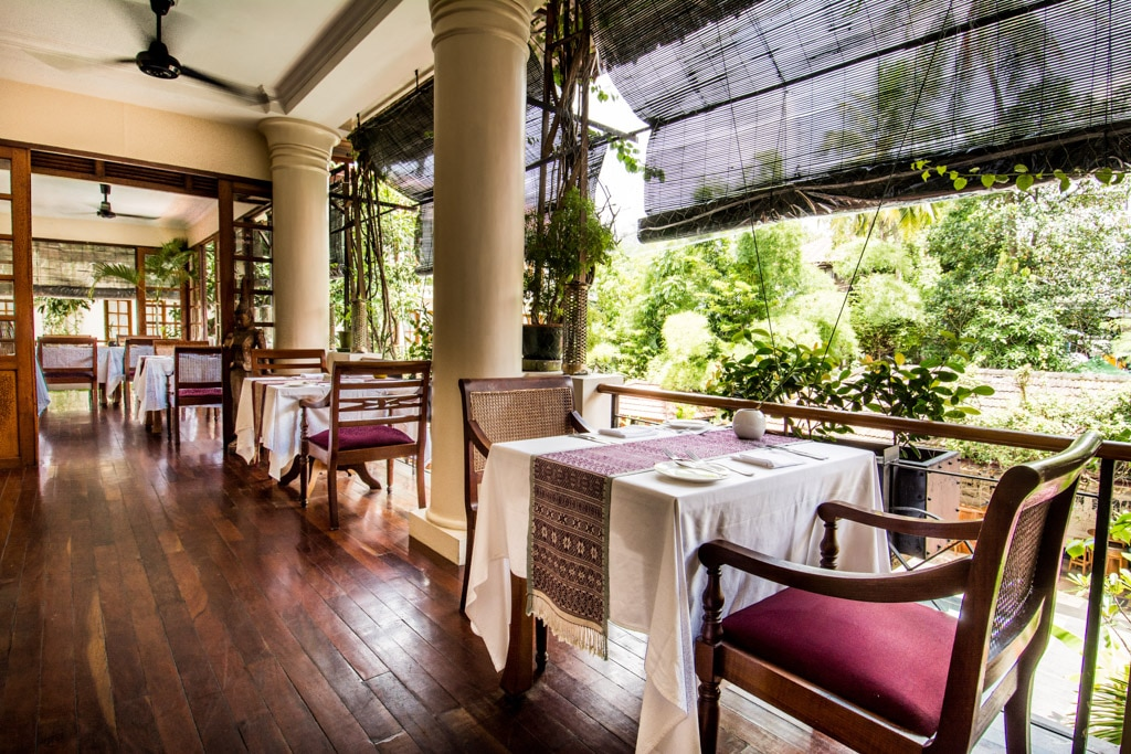 Savoy Hotel de Yangon : Terrasse du restaurant Kipling
