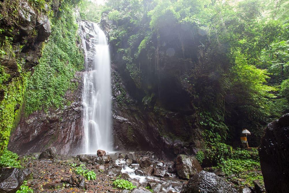 Que faire à Bali ? : Aller à la cascade Gitgit