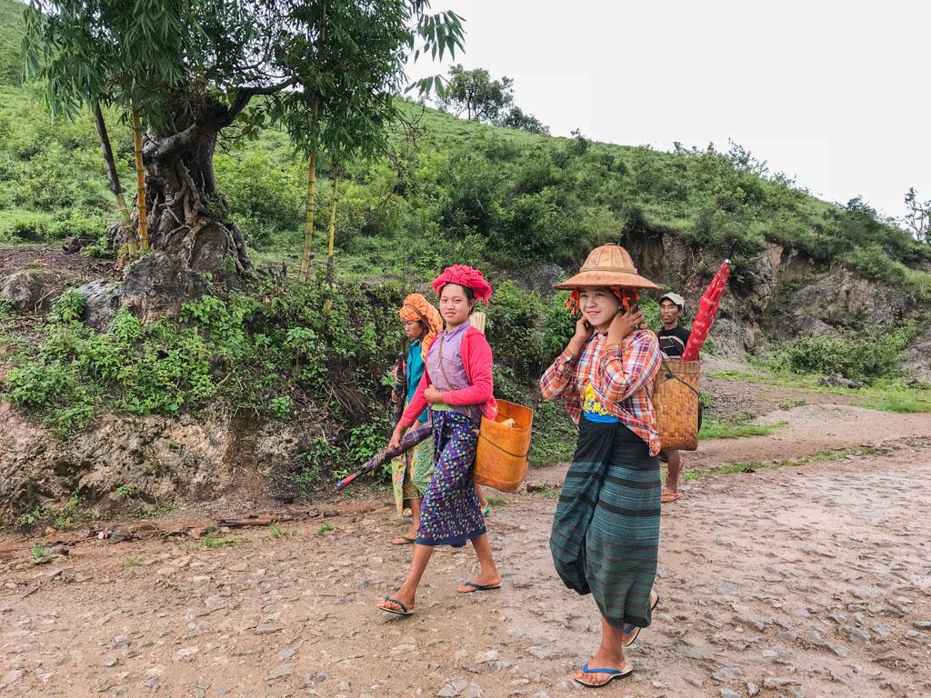 Ethnie Birmanie
