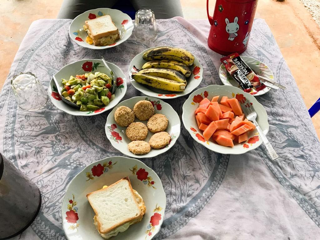 Petit-déjeuner chez l'habitant