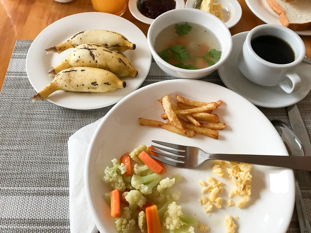 Petit-déjeuner Sky Motel à Kalaw