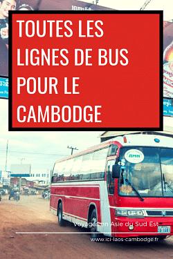 Pin Les lignes de bus au Cambodge