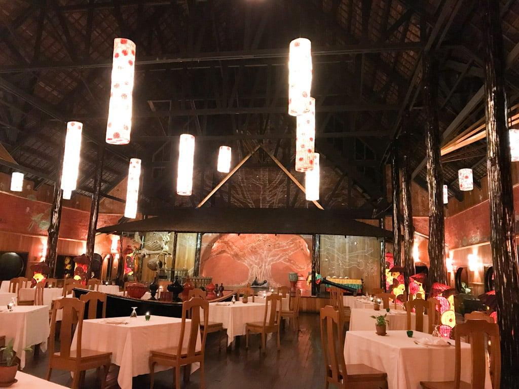 Salle restaurant Inle Princess