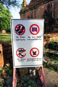 S'habiller à Bagan