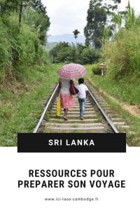 Pin Ressources pour préparer son voyage au Sri Lanka