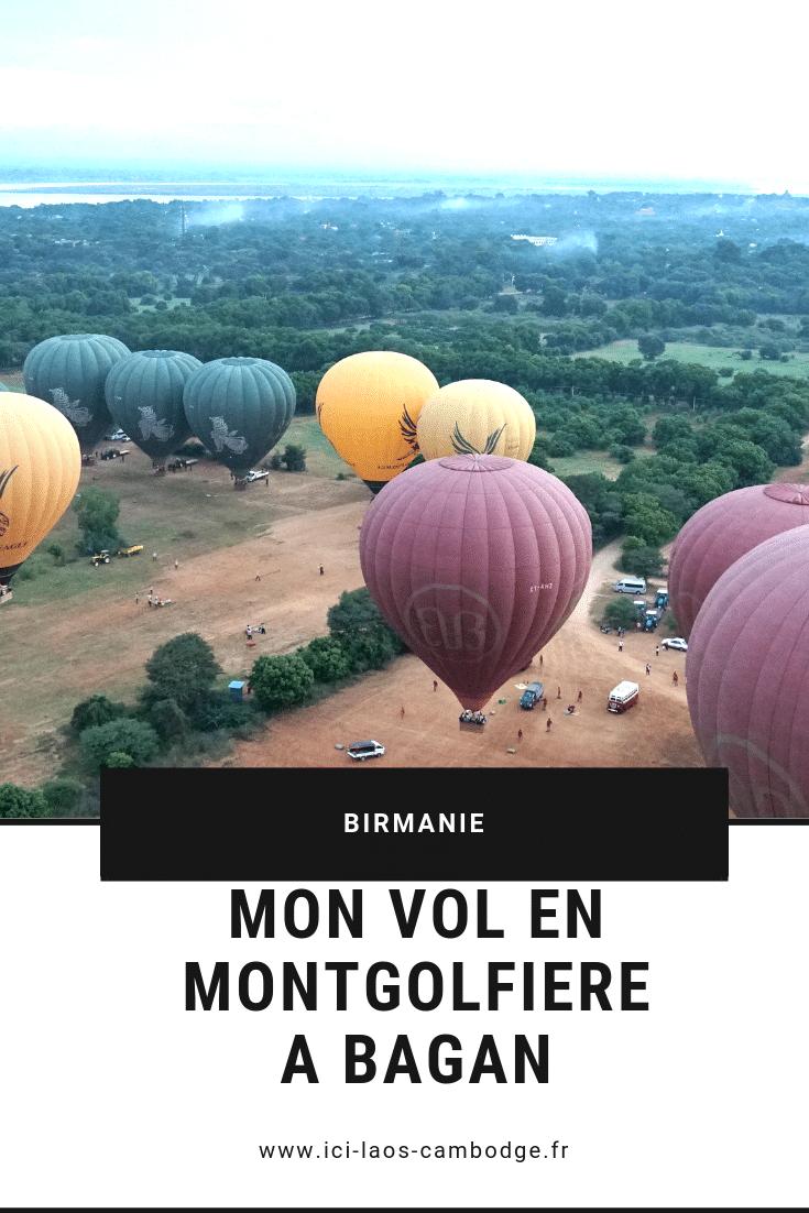 Pin it: Mon vol en montgolfière à Bagan