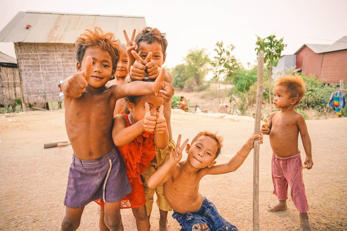 Enfants à Siem Reap