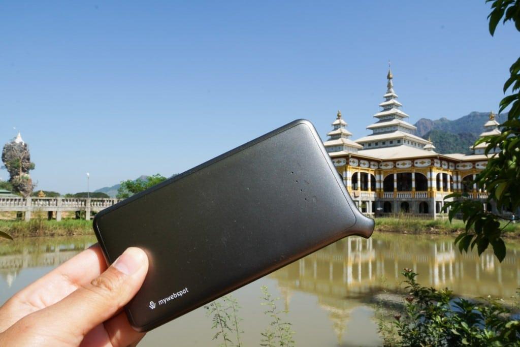 My Webspot au Myanmar