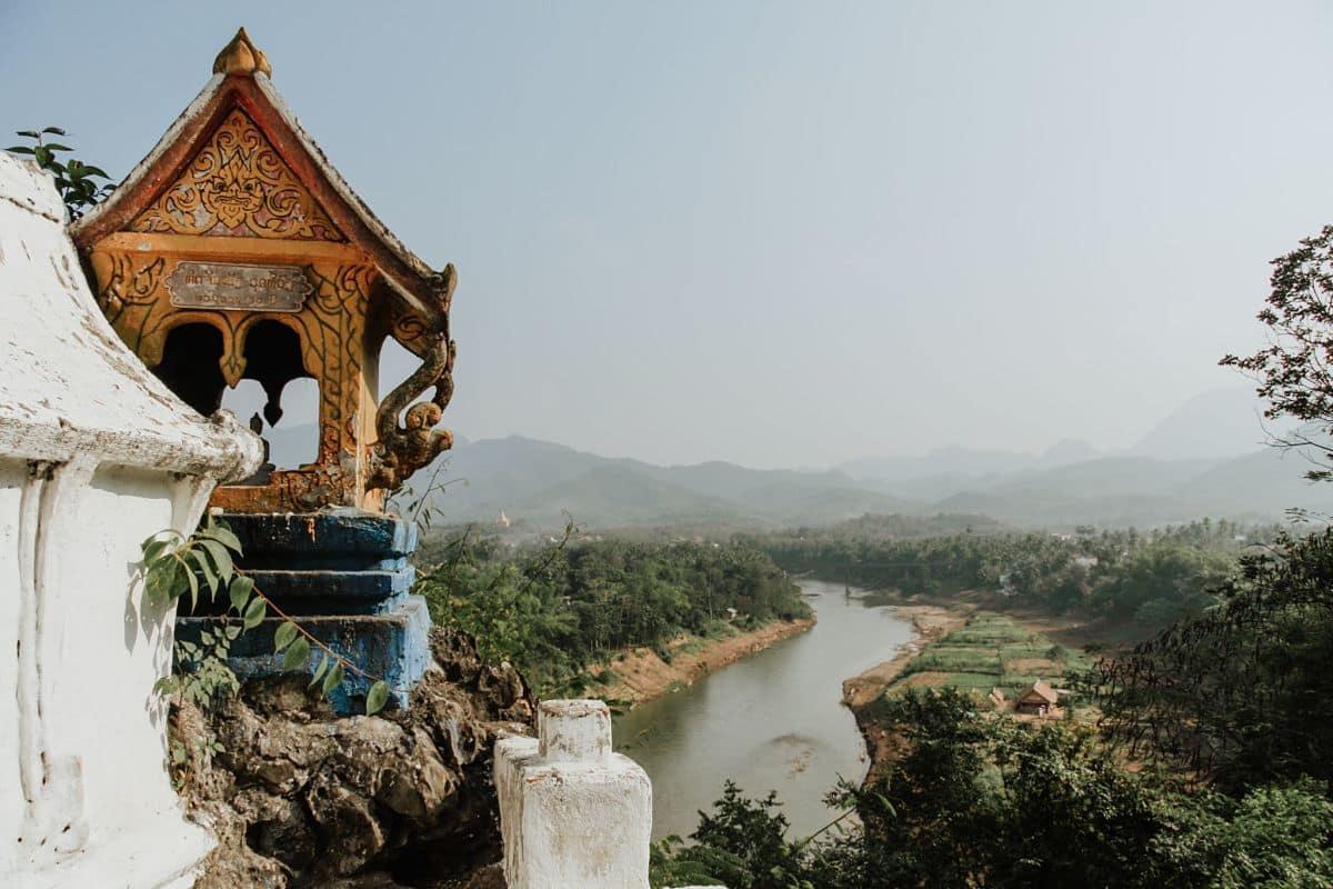 Paysage au Laos