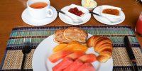 Petit-déjeuner au Inle Heritage Stilt Houses