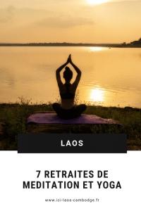 Pin Retraites de médiation et yoga au Laos