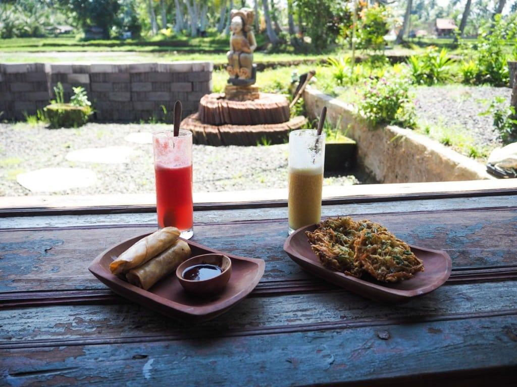 Petite pause au Sweet Orange Warung