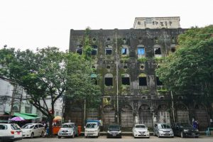 Ancien bâtiment à Yangon