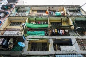 Bâtiment à Yangon