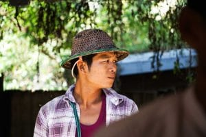 Birman à Yangon