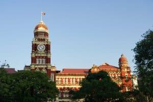 Cour Suprême à Yangon