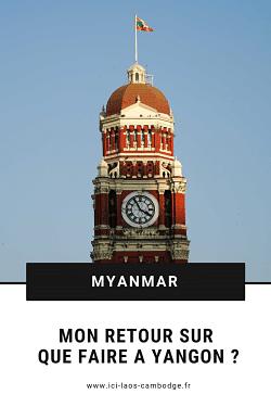 Pin Visiter Yangon