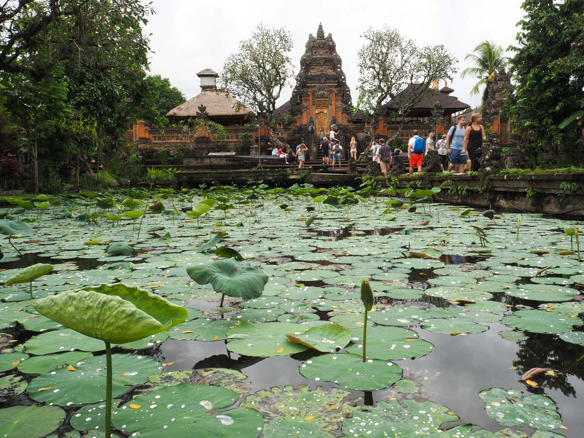 Que faire à Ubud ? : Aller au temple Taman Sarawasti