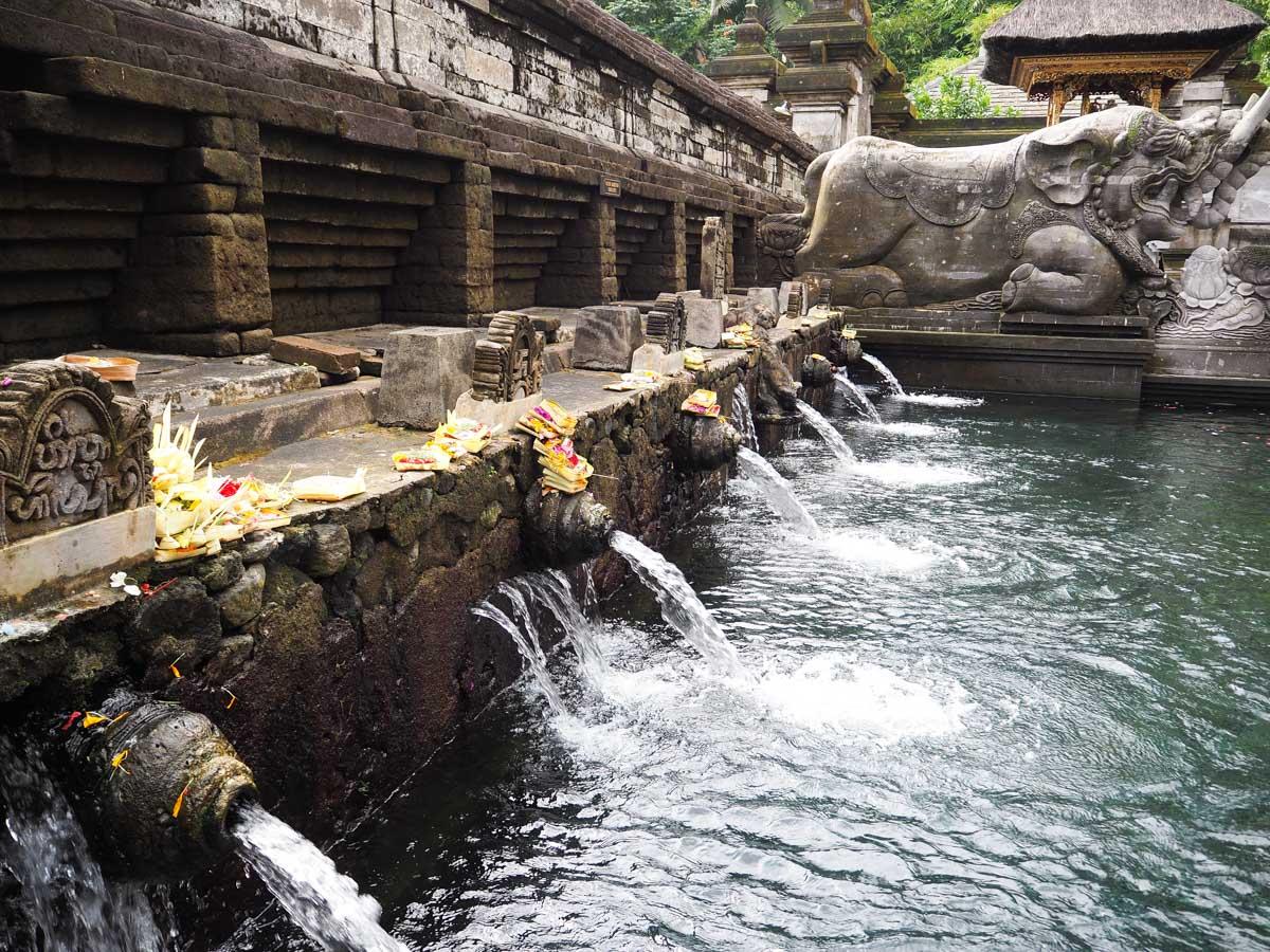Que faire à Ubud ? : Aller au temple Tirta Empul