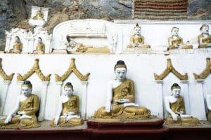Bouddhas de la grotte Kaw Gone