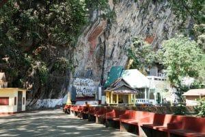 Entrée de la grotte Kaw Gone