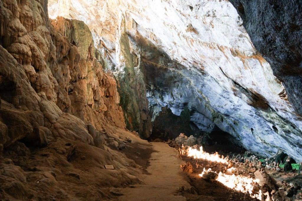 Intérieur Vue de Grotte Yathae Pyan