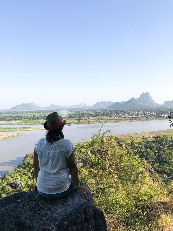 Moi au Mont Phan Pu