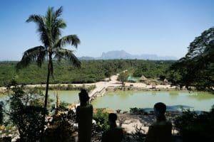 Paysage de la grotte Yatae Pyan