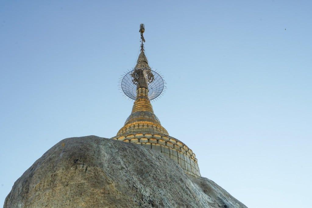 Parapluie rocher d'or
