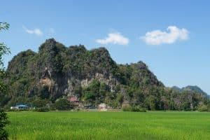 Vue sur la grotte de Sadan