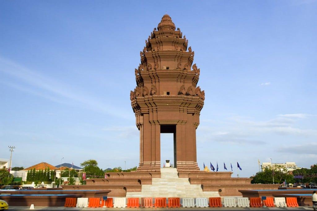 Monument de l'indépendance Phnom Penh