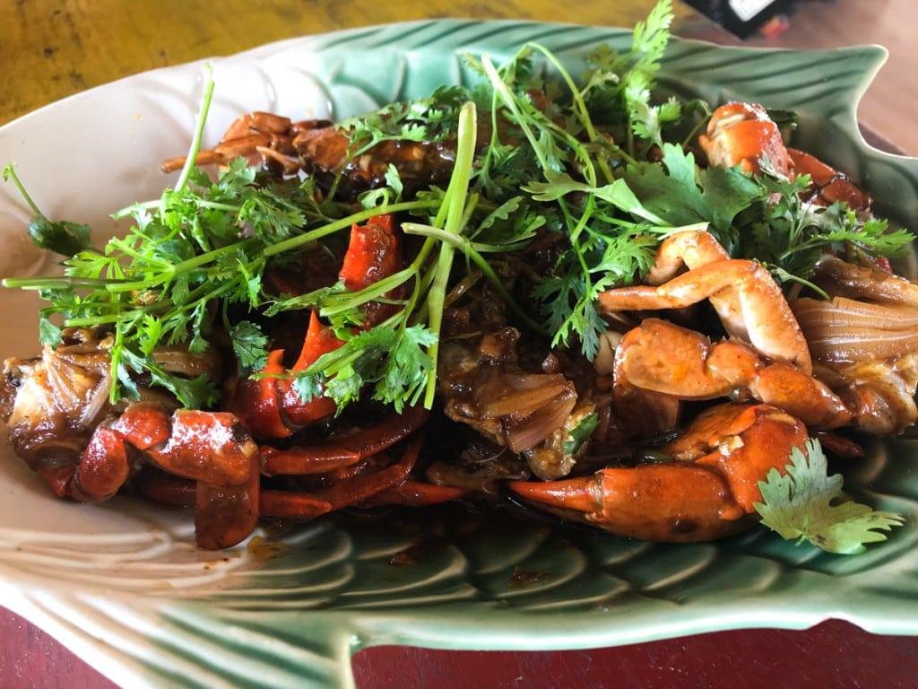 Manger aux alentours de Ye : Crabe Mya Latyar Seafood