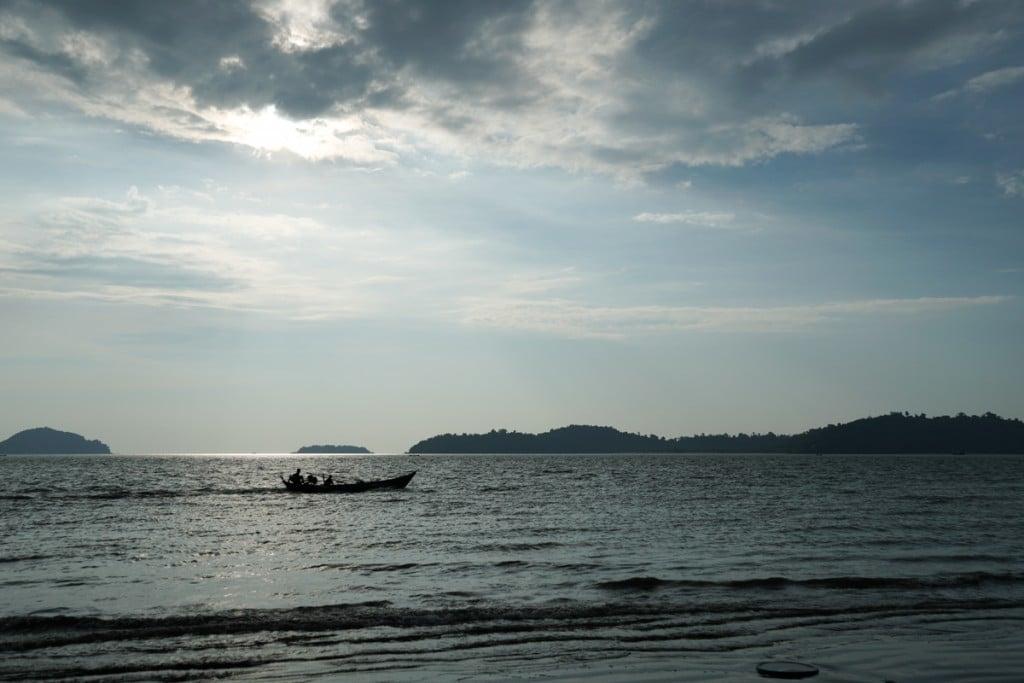 Mer d'Andaman depuis Bin Le Wa Beach