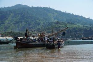 DécBateaux au village San Hlan - Dawei